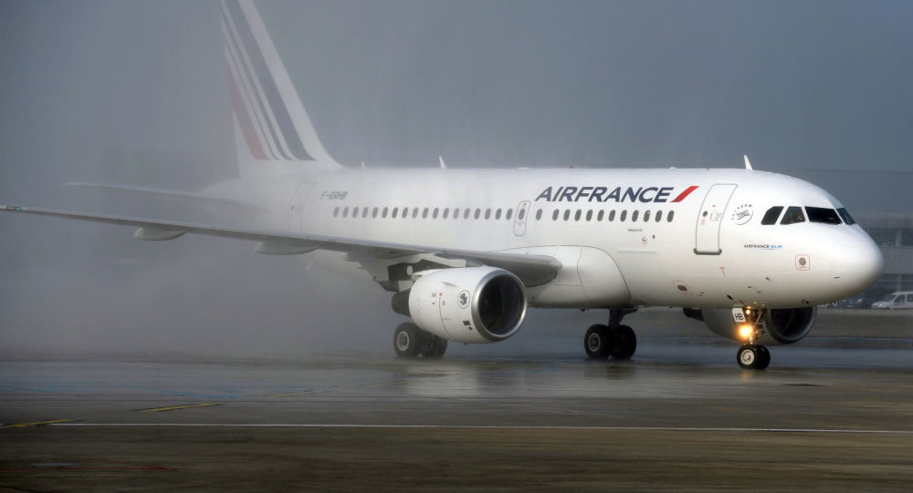 Un Airbus A319 de la compagnie Air France
