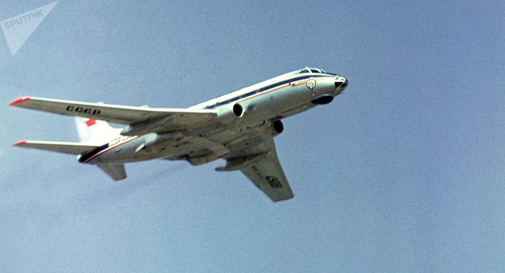 Un Tupolev Tu-124 (archive photo)