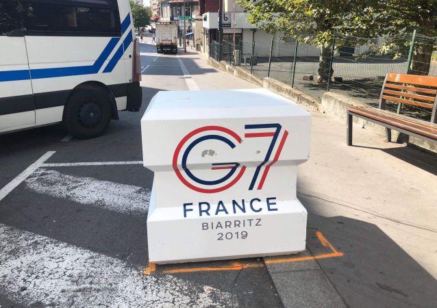 Biarritz à l'approche du sommet du G7