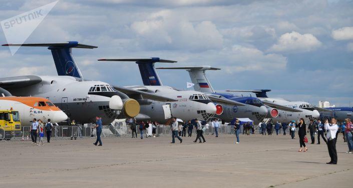 Le salon aéronautique international MAKS-2019