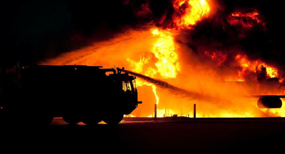 un incendie (image d'illustration)