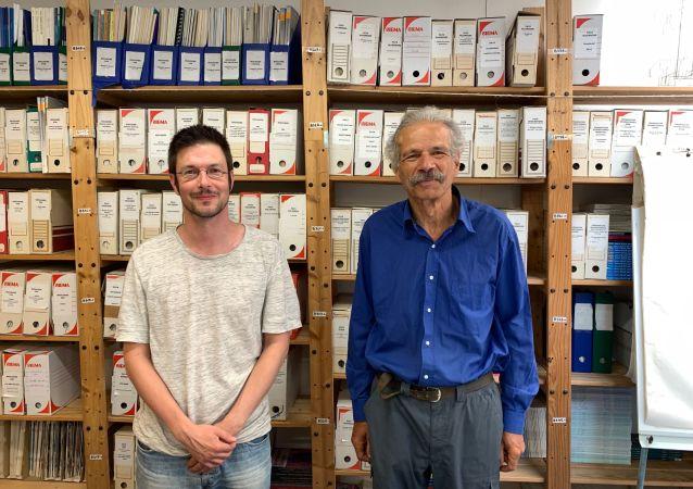 Patrice Bouveret et Tony Fortin