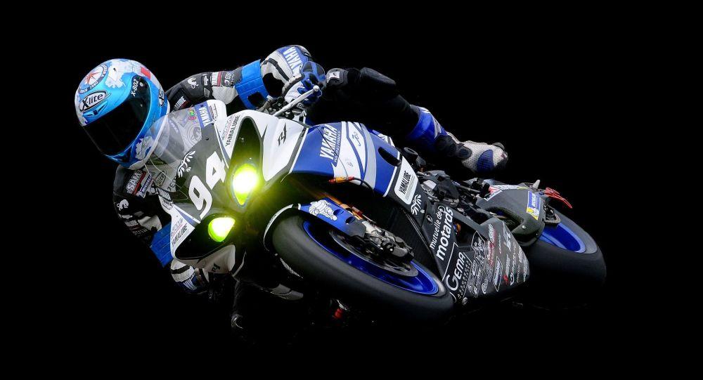 un motard (image d'illustration)