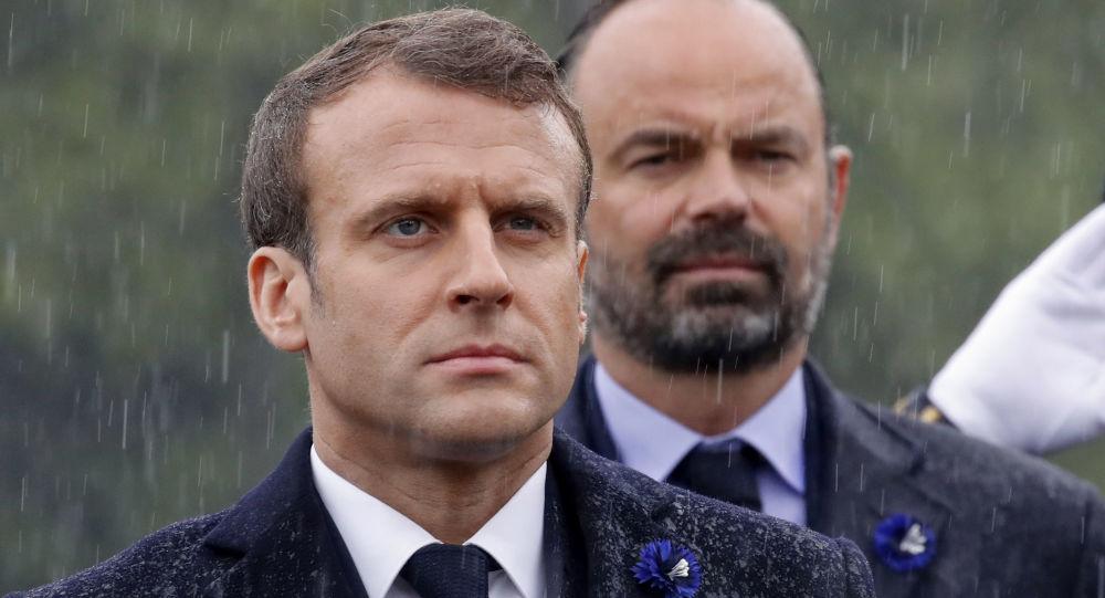 Emmanuel Macron et Edouard Philippe