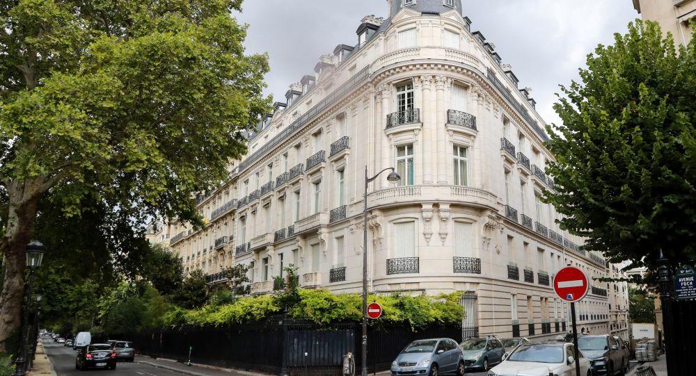 L'immeuble ayant appartenu à Jeffrey Epstein dans le 16e arrondissement de Paris