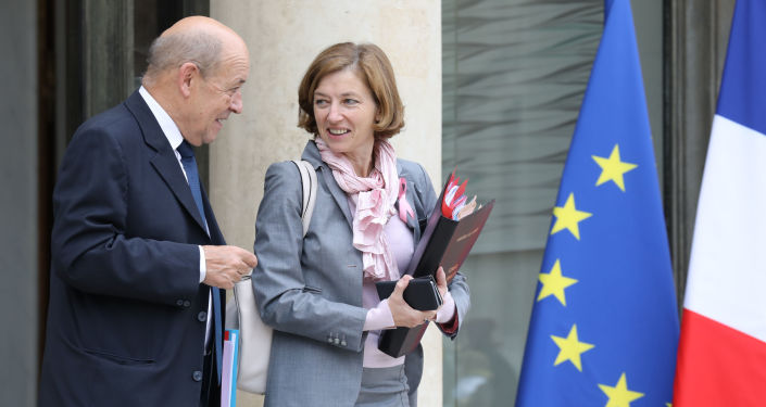 Jean-Yves Le Drian et Florence Parly