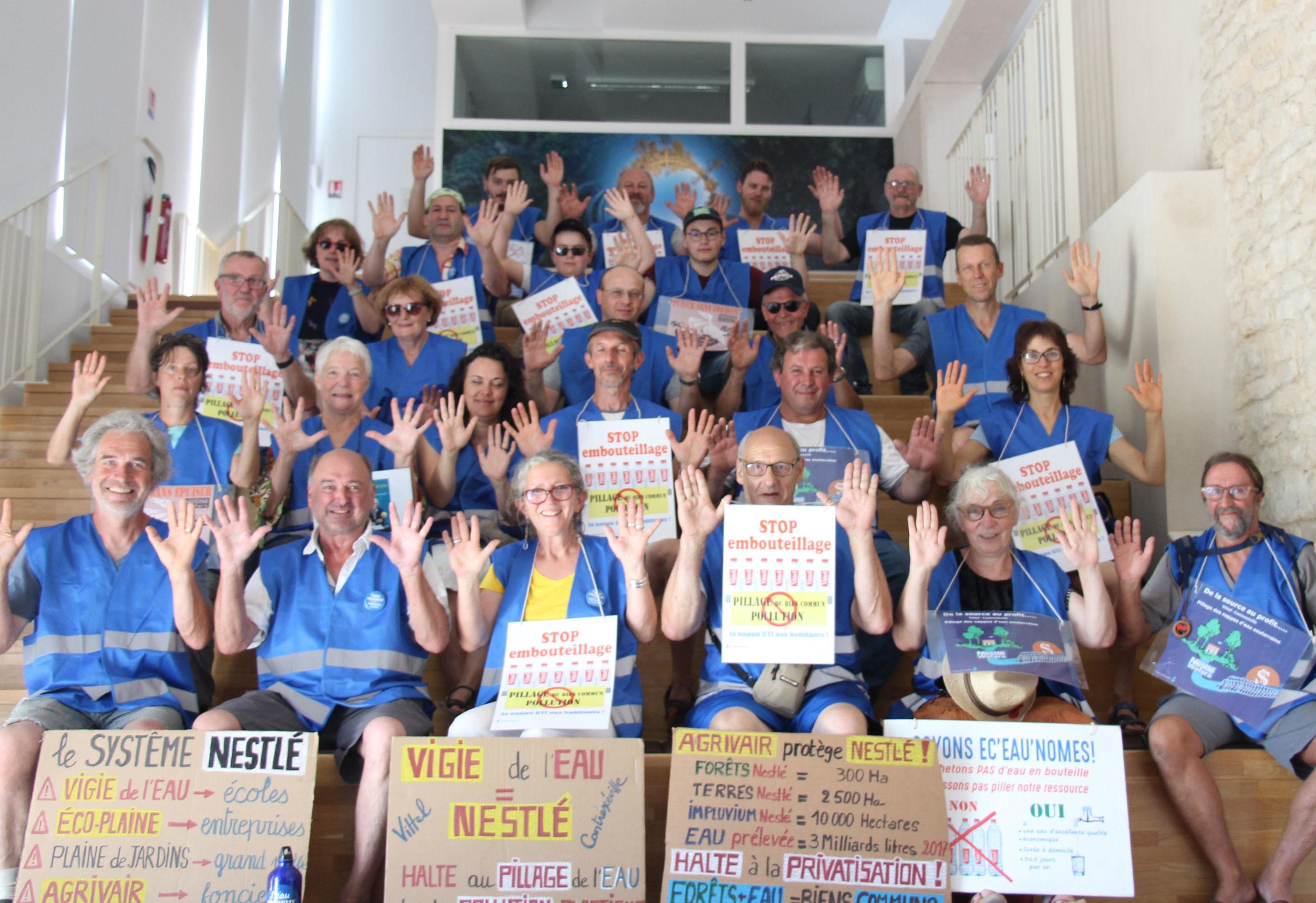 Mouvement De Protestation Collectif Eau 88