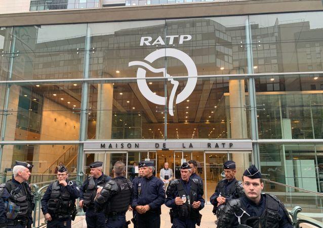 La grève de la RATP à Paris le 13 septembre