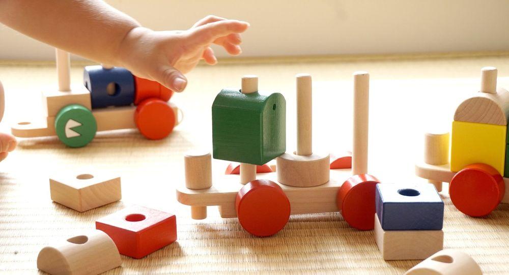 Enfants Bloc De Construction