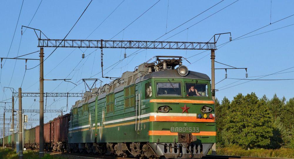 Un train de marchandises (image d'illustration)