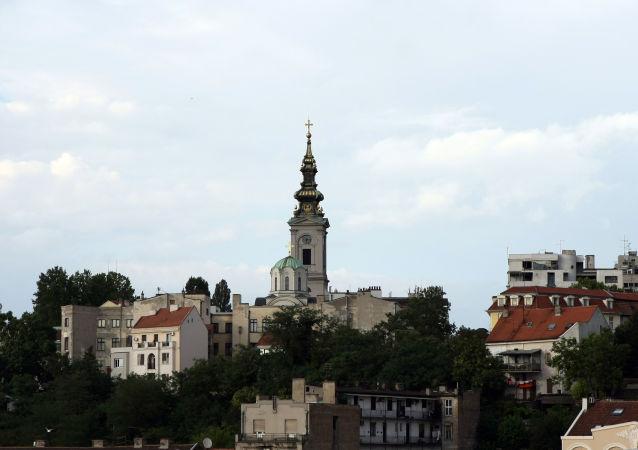 Ville de Belgrade, capitale serbe