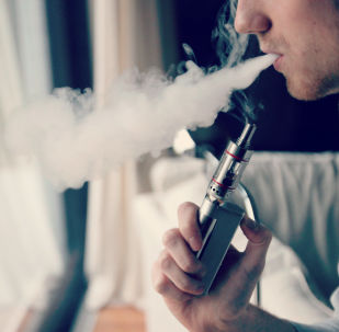 Une cigarette électronique (image d'illustration)