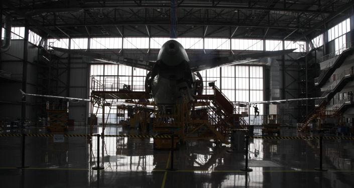 L'usine aéronautique d'Airbus à Tianjin, en Chine
