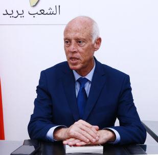 Kaïs Saïed, Président tunisien élu