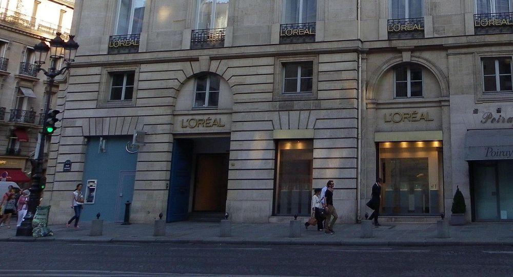 Siège social de L'Oréal au 14 rue Royale à Paris