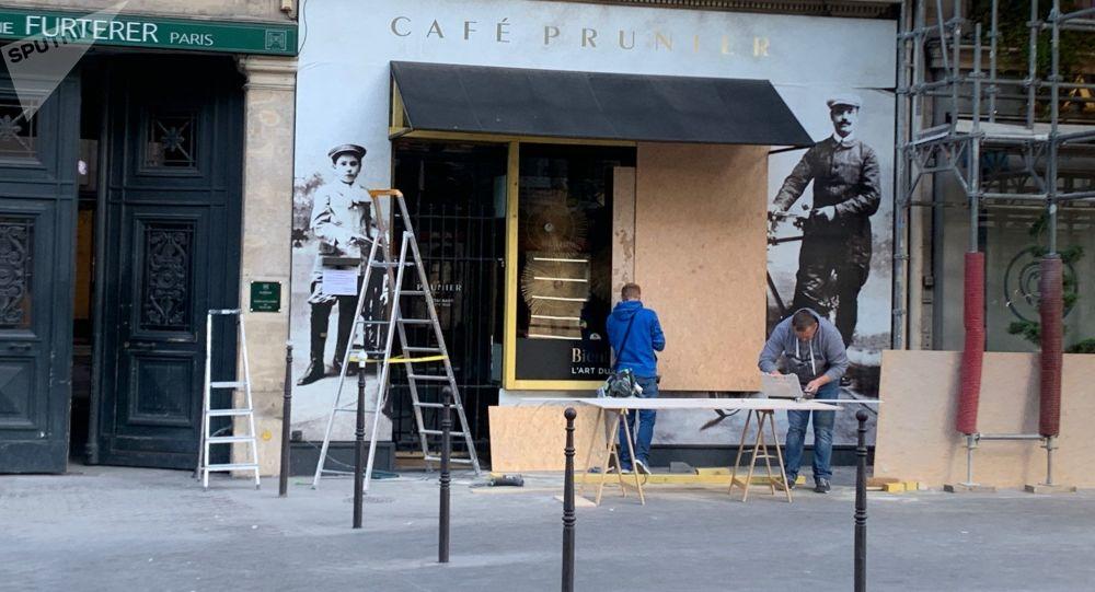La situation à Paris avant l'acte 45 des Gilets jaunes