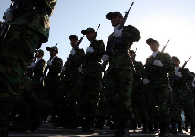 Les Gardiens de la révolution islamique (archive photo)