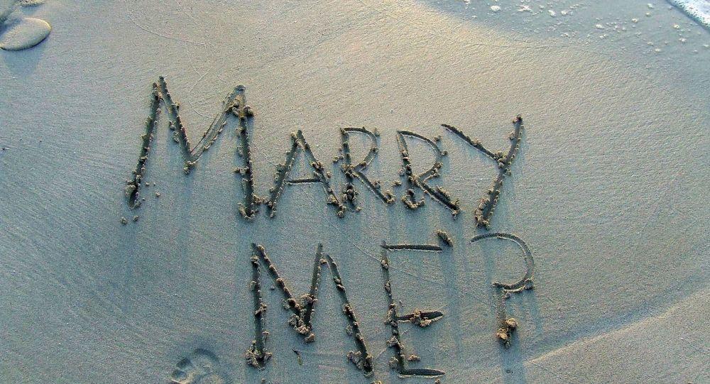 Un Américain se noie en demandant son amie en mariage