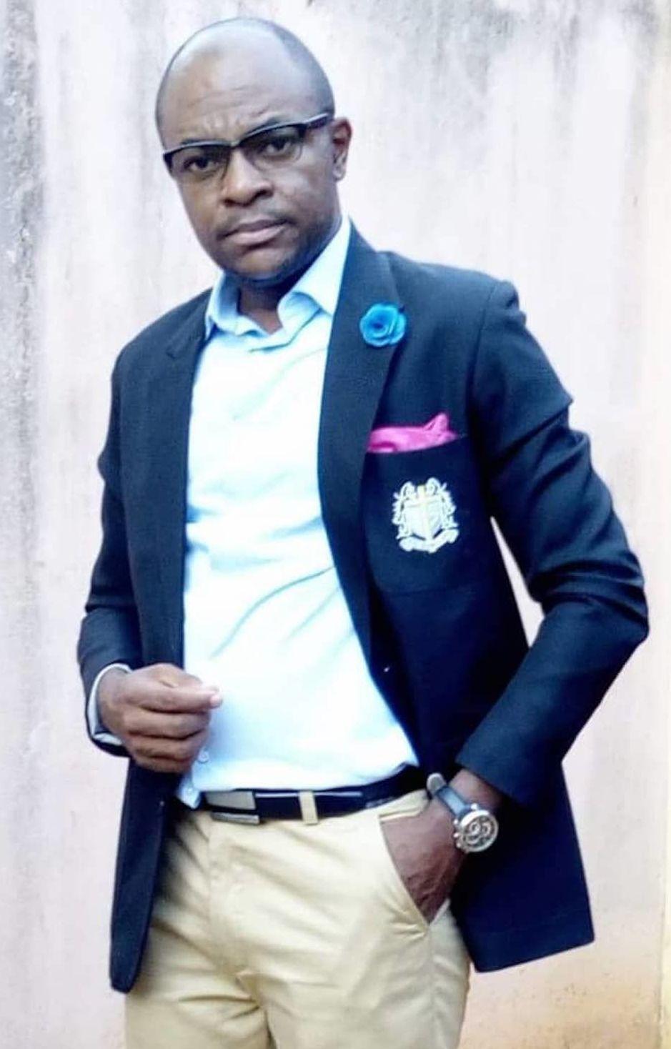 Richard Makon, analyste politique camerounais, spécialiste du droit public, chercheur en sciences sociales à l'université de Yaoundé 2 au Cameroun