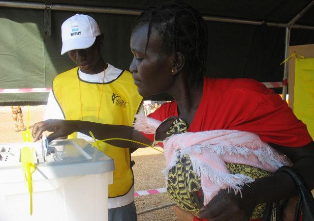 Une Soudanaise (image  d'illustration)