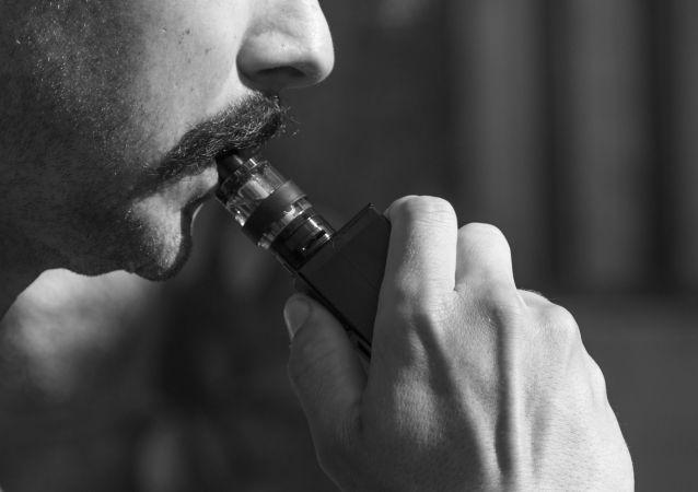 Cigarette électronique / image d'illustration