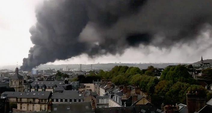 L'incendie de l'usine Lubrizol de Rouen