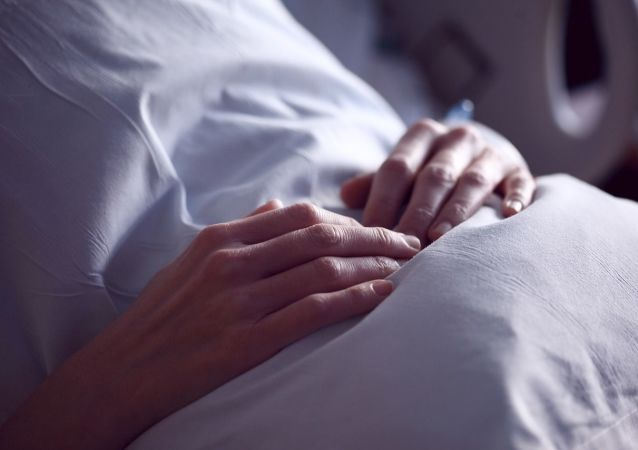 Patiente dans une clinique (image d'illustration)