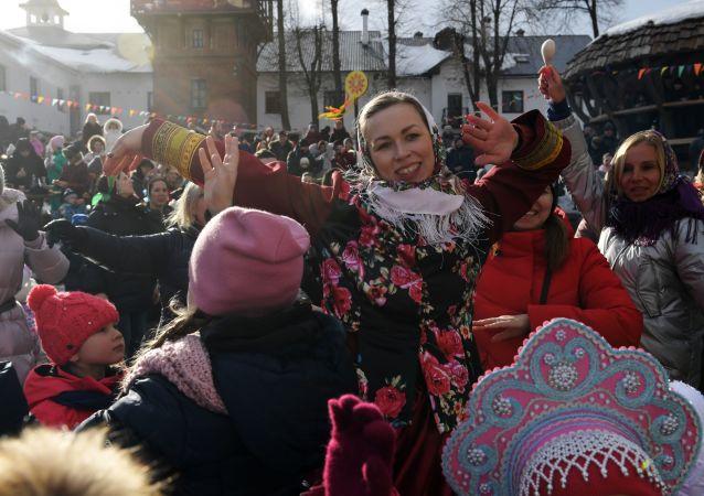 Célébration de Maslenitsa