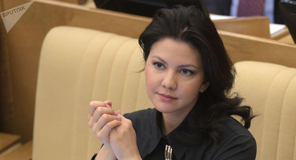 Inga Ioumacheva, députée à la Douma russe