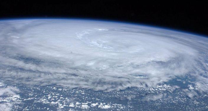 un typhon (image d'illustration)