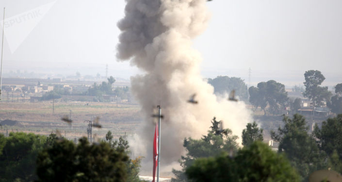 Bombardements turcs près de la ville syrienne de  Ras al-Aïn