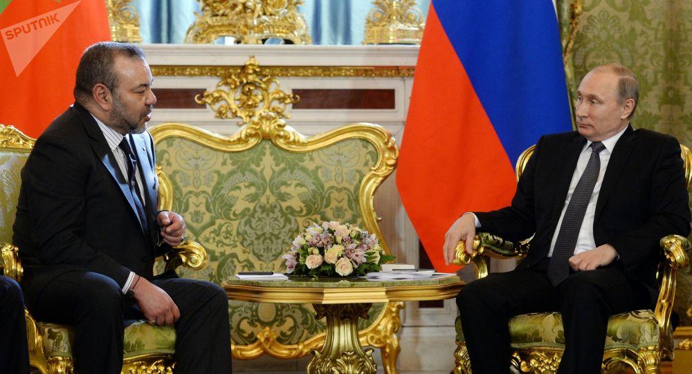 Le roi Mohammed VI et le Président russe Vladimir Poutine