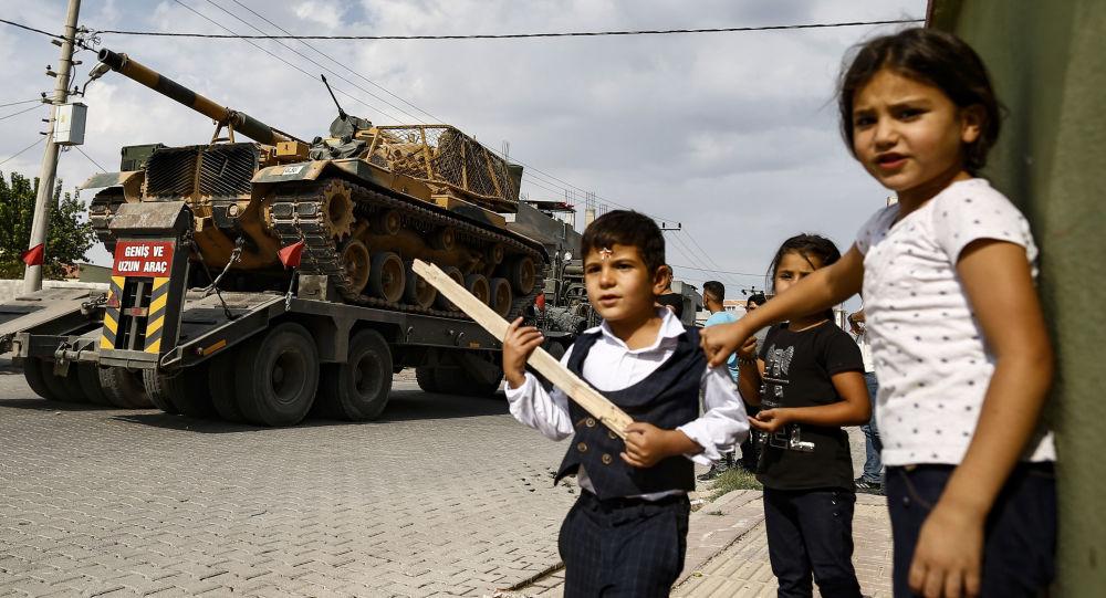 Situation à la frontière turco-syrienne