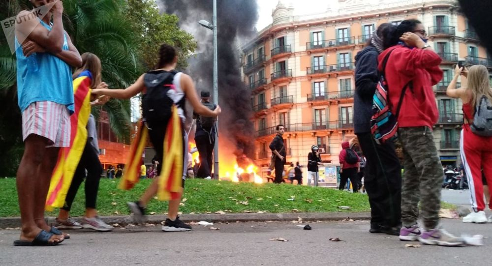 Situation à Barcelone