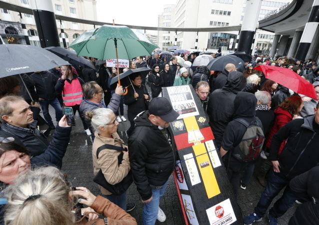 Une «Marche noire» à Bruxelles