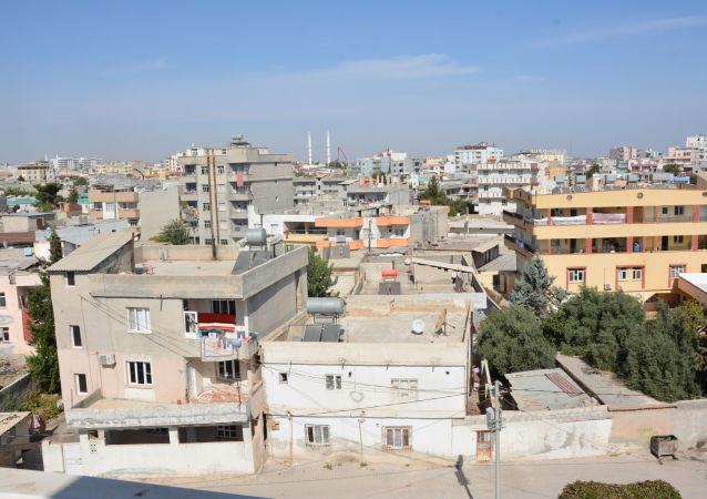 Жители населенных пунктов на турецко-сирийской границе