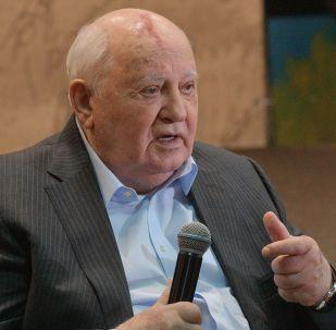 Le président de l'URSS Mikhaïl Gorbatchev