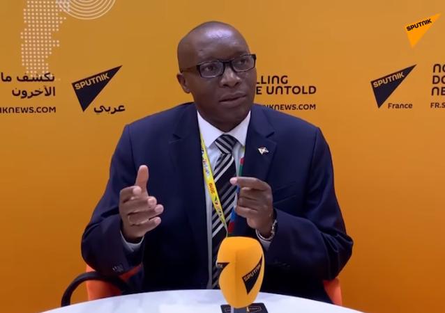 Édouard Bizimana, ambassadeur du Burundi en Russie
