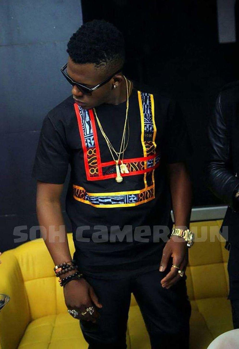 Une célébrité de la musique locale vêtue par Soh Cameroun