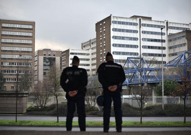 Des gendarmes à Bobigny (archive photo)