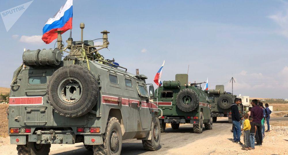 En Syrie, la police militaire russe prend possession d'une ancienne base US