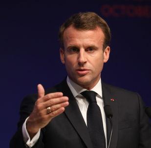 Emmanuel Macron (photo d'archives)