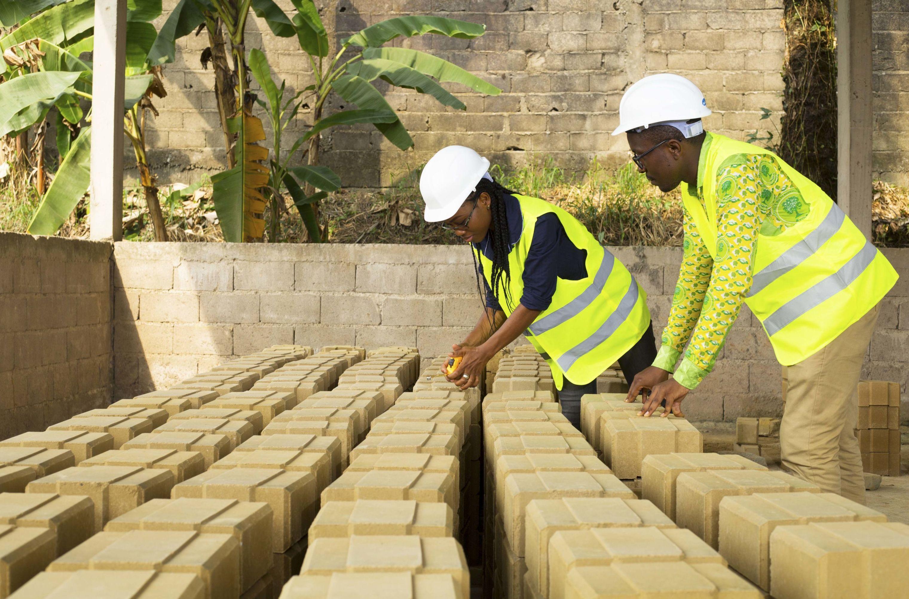La brique de terre, spécialité de Millenium Immobilier
