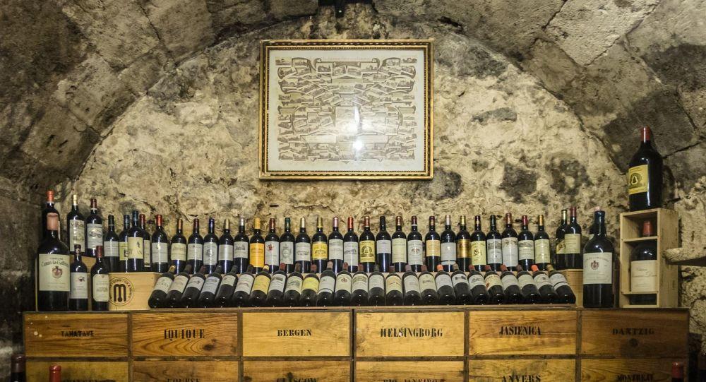 Une cave à vins (image d'illustration)