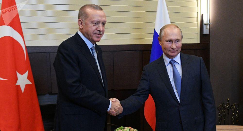 Poutine et Erdogan à Sotchi