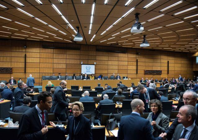 Une session de l'Agence internationale de l'énergie atomique (image d'illustration)