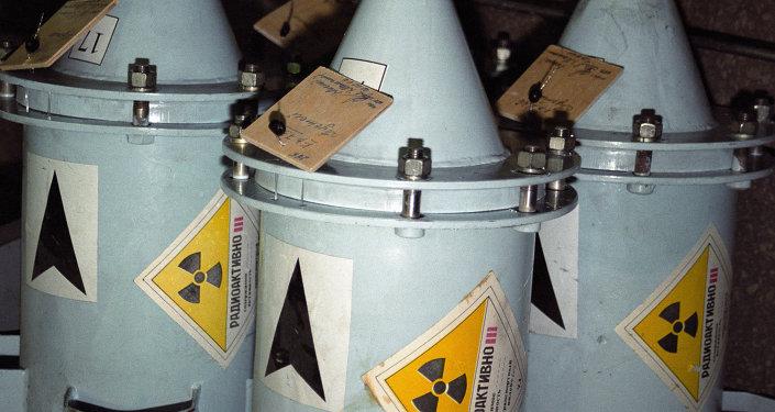 Conteneurs avec combustible nucléaire