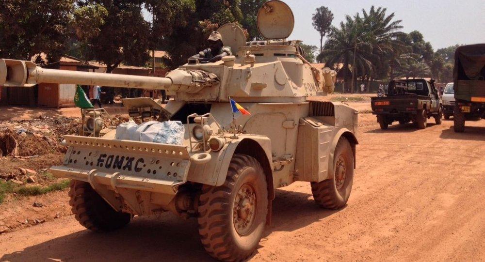 Militaires tchadiens