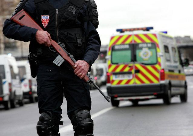Police française / image d'llustration