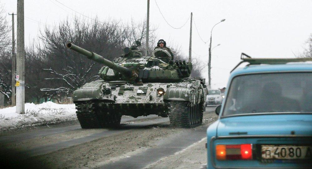 Les insurgés de la République populaire de Donetsk